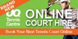 Book your tennis court online
